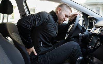 ישיבה נכונה ברכב